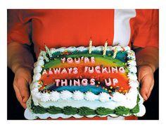 犬 | msmrmusic: Rude Cakes by Tara Welch