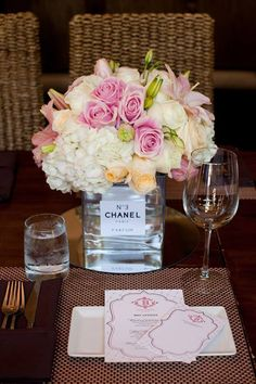 Chanel Inspired Bridal Shower - Quoteko.com
