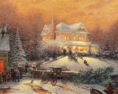 Victorian Christmas II   The Thomas Kinkade Company
