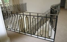 Steel Balustrade, Balcony Railings, Glass Balustrades, Handrails London, Kent and Surrey by Steel Stairs and Gates Ltd Steel Railing Design, Metal Stair Railing, Balcony Railing Design, Staircase Railings, Staircase Design, Stairways, Balustrade Balcon, Steel Balustrade, Iron Handrails
