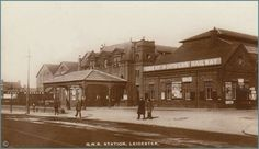GNR Station. Disused Stations, Leicester, History, Architecture, City, Image, Postcards, Arquitetura, Historia