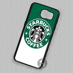 Green White Logo Starbuck Coffee - Samsung Galaxy S7 S5 S4 Note 4 Cases & Covers
