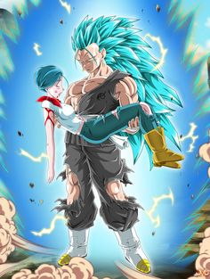 Hi there ! Well, I always wanted to do a character holding an other.. It's done ^^ Bulma, friend of Goku and wife of Vegeta is badly hurt... Someone is gonna have his butt kick real hard I gu...