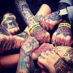 Tattoo #inked Man I dig Hand Tattoos