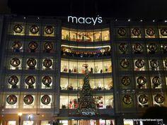 Macy's, San Francisco at Christmas