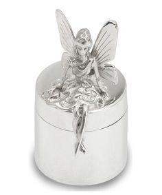Sterling Silver Tooth Fairy Keepsake Box