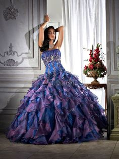 long prom dress - mardi gras ball gown ideas - Pinterest - Prom ...