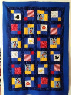 Mickey's Body Parts!  Fun Quilt to make.