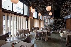 Marzua: Restaurante Seis Ocho: alta cocina y diseño vanguardista más allá del centro de Madrid.