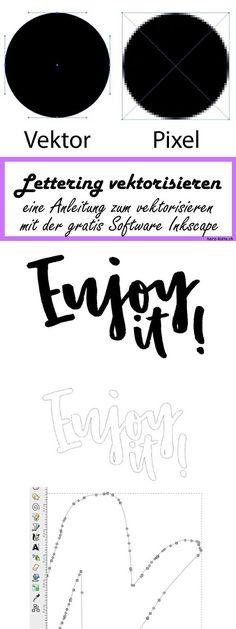 Tutorial Lettering mit Photoshop digitalisieren Fonts Pinterest - küche folieren anleitung