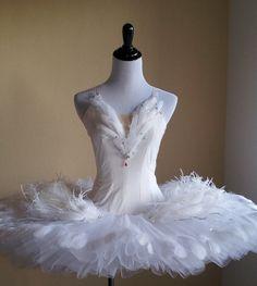 Ballet Costume Swan Lake Odette Tutu
