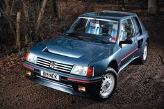 Peugeot 205 - Best Group B road cars: Top 10 Auto Peugeot, Peugeot 205, Classic European Cars, Classic Cars, Retro Cars, Vintage Cars, Grand Raid, 205 Turbo 16, Automobile