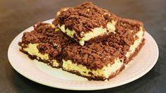 Strouhaný kakaový koláč s tvarohem - Sladká tečka - Stream