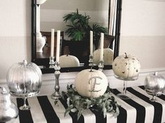 Decorating your home for Halloween doesn't have to be difficult. Get into the mood with our modern, fresh Halloween decorating ideas.