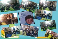 Visitando la biblioteca #infantilsekelcastillo #sekelcastillo
