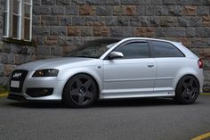 """Audi S3 with 18"""" Bola B10"""