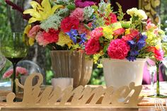 Summer inspired lasercut sign #makeitamomenttoremember