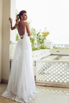 Stunning Bridal 2014 Collection by Dalia Manashrov - Fashion Diva Design on imgfave Dream Wedding Dresses, Designer Wedding Dresses, Wedding Gowns, Boho Vintage, Backless Wedding, Wedding Attire, Wedding Bells, Bridal Gowns, Beautiful Dresses