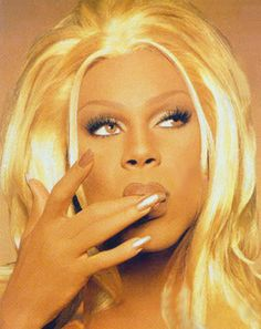 Rupaul Synthetic Realness! hands down my favorite picture of Ru!