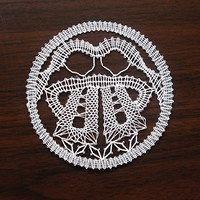 Bobbin Lace Patterns, Embroidery Patterns, Irish Crochet, Crochet Lace, Lace Heart, Lace Jewelry, Lace Making, Cross Stitch Embroidery, Lace Detail