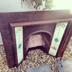 Beautiful cast iron fireplace for sale ❤️