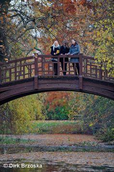 The Bridge in the Johannapark in Leipzig © Dirk Brzoska