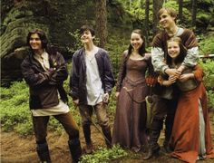 The Narnia Cast...Prince Caspian, Edmund, Susan, Peter and Lucy
