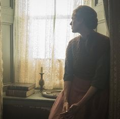 Agyness Deyn stars as Chris, who finds herself in charge of her own piece of land in Terence Davies' Sunset Song.