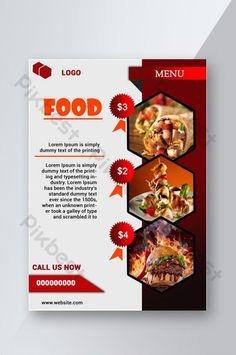 Very Good Looking Delicious Food Flyer Template Delicious Burgers, Delicious Fruit, Yummy Food, Food Graphic Design, Menu Flyer, Food Banner, Vietnamese Recipes, Restaurant Recipes, Food Menu