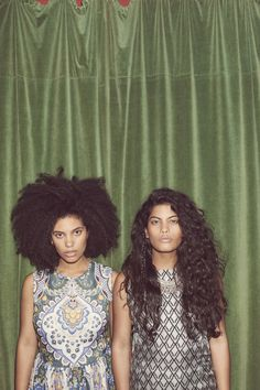 Bohemian, as worn by French-Cuban duo Ibeyi  – in pictures