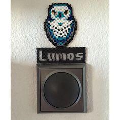 Lumos - Harry Potter hama mini beads by symphonyonmute
