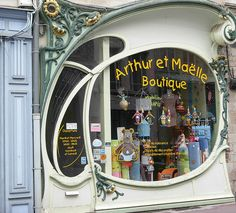 Douai-Art nouveau shop by april-mo, via Flickr