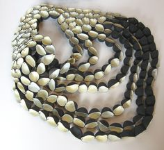 Niki Stylianou necklace 2013 - made with rubber gloves