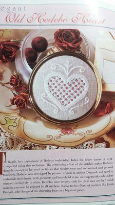 Charts include: Whitework Sampler Elegant Old Hedebo Heart Two Pears Stocking Margaret McLennahen 1826 Sampler Abide Thy Heart Jean Parker Sampler