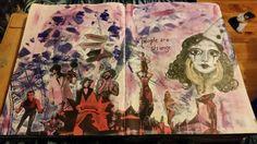 Art journalling DLP prompts