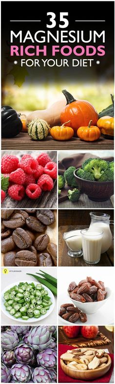 Did you know that deficiency of magnesium can lead to several health ...Here are top 35 Magnesium Rich Foods You Should Include In Your Diet.