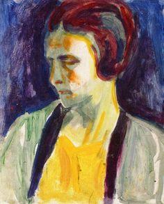 The Athenaeum - Portrait of Female Model (Edvard Munch - )