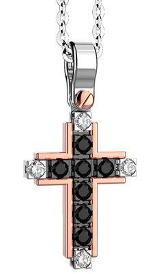 Cross Pendant, Washer, Black Men, Sexy, Jewelry, Crosses, Rose Gold, Jewlery, Jewerly