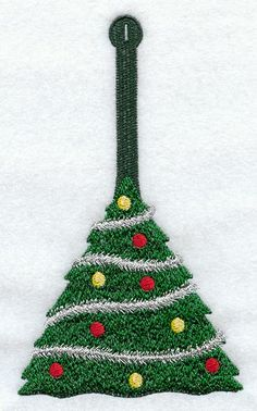 Machine Embroidery Designs at Embroidery Library! Crochet Christmas Garland, Holiday Crochet, Christmas Knitting, Christmas Tree Toppers, Crochet Cat Toys, Crochet Baby Clothes, Crochet Gifts, Crochet Towel Holders, Crochet Towel Topper
