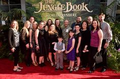 The Jungle Book World Premiere gives fans a glimpse at various spots world wide where the cast and crew enjoyed the red carpet events.