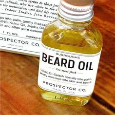 Burroughs Beard Oil $28