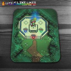 Zelda Master Sword Mousepad by LikeLikes