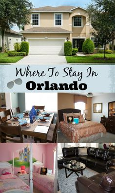 Where to Stay in Orlando Near Disney World Parks-All Star Vacation Homes