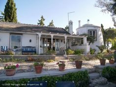 Property with two cottages, a windmill and pool in S. Bás de Alportel, Algarve, Portugal - http://www.portugalbestproperties.com/component/option,com_iproperty/Itemid,16/id,1353/view,property/