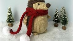 Free Knitting Amigurumi Pattern. Adorable hedgehog to knit!