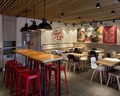 "Fast-food restaurant chain KFC is launching a radical new design concept, which it says represents ""the future of interior design for KFC""."