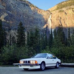 His classic #BMW 635CSi would be the perfect companion for the journey and within two months he had put 10,651 miles on the counter, visiting 22 states, three provinces and eleven national parks in North America