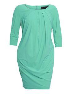 BARBARA SCHWARZER - Dress with pleated neckline - navabi