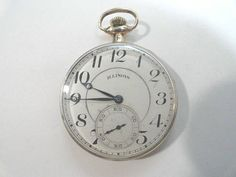 Antique 1916 Illinois Autocrat 17 Jewel Size 12 43mm by KayesVintageJewelry on Etsy