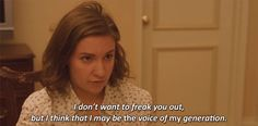 """The 23 Most Relatable Hannah Quotes From """"Girls""""."""